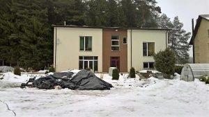 vilnius ziloj dom v rajone antakalnis.parduodamas murinis namas vilniuje antakalnio